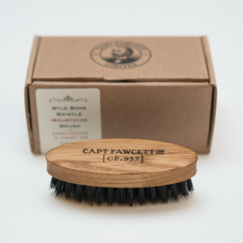 Captain Fawcett Moustache Brush Wild Boar Bristle